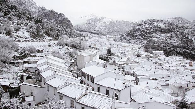 Resultado de imagen de invierno en la sierra de grazalema