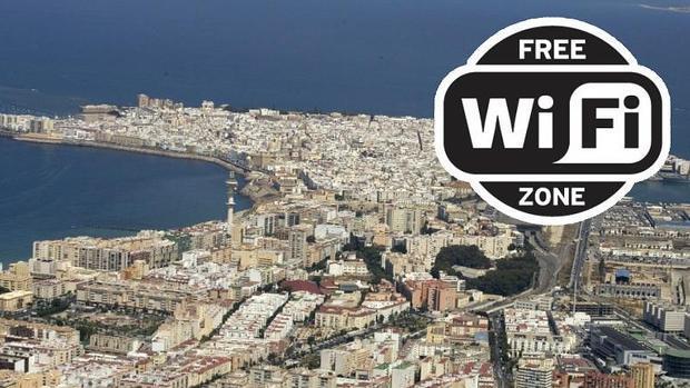 Acceso gratis a internet. Free wifi Cádiz