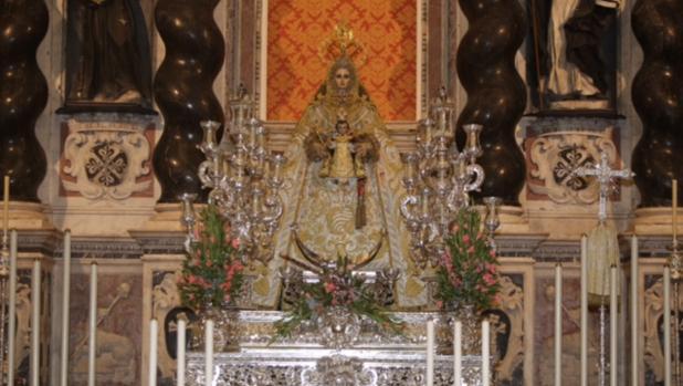 Virgen del Rosario, patrona de Cádiz