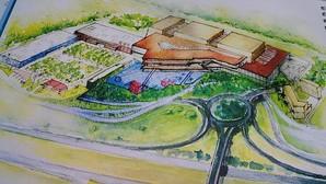 Boceto del futuro centro comercial de Espartinas, que creará 3.000 empleos