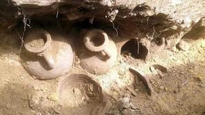 Las ánforas halladas en Tomares eran de Alcolea del Río y servían para llevar aceite