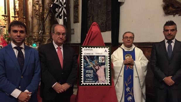 Vera cruz presenta el sello conmemorativo del 450 for Oficina correos cadiz