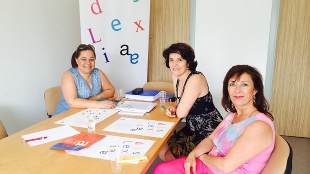 Fundadoras de la asociación Dislexia Cádiz