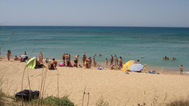 Los ecologistas izan 14 banderas negras en las playas de Cádiz