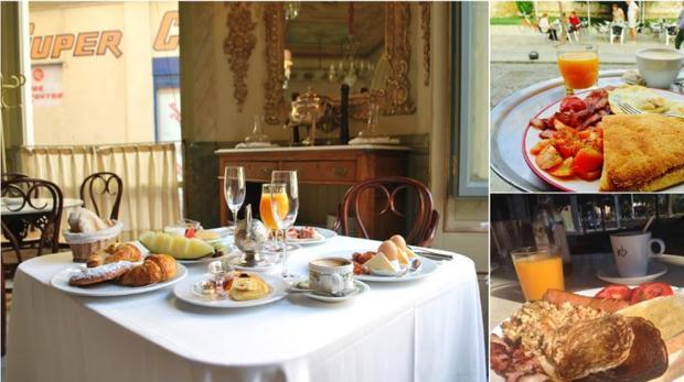 Brunch de Café Royalty (izquierda), La Chicha Yeyé (derecha arriba) y Great Day Coffee. | L.V.