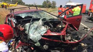 El pasado mes de julio murieron tres chicas jóvenes a pocos kilómetros del accidente de ayer