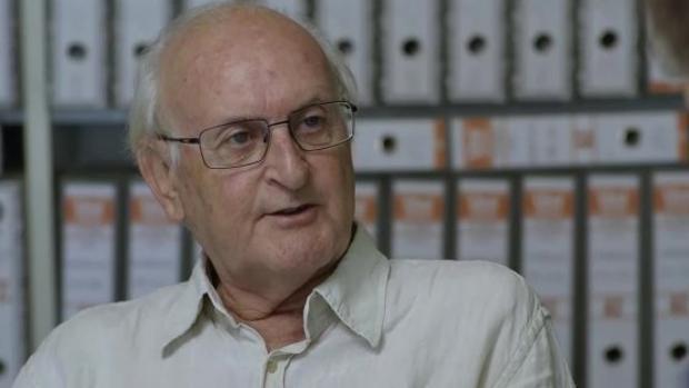 Paco Puche, durante una entrevista en televisión