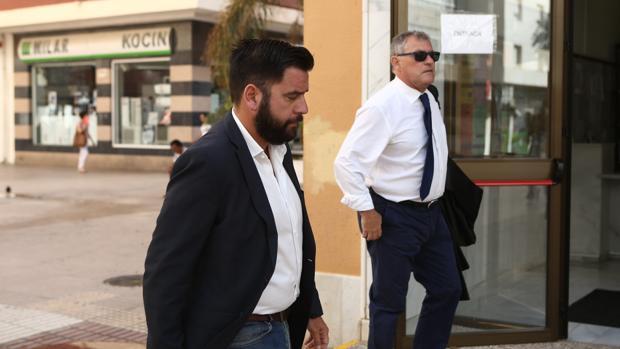 Fran González entra esta mañana en el Juzgado de Instrucción número 3 de Cádiz