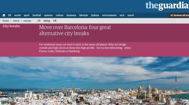 'The Guardian' destaca la nueva corriente de creatividad gastronómica de Cádiz