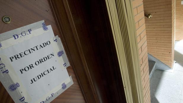 La vivienda donde ocurrieron los hechos fue precintada por la Policía.