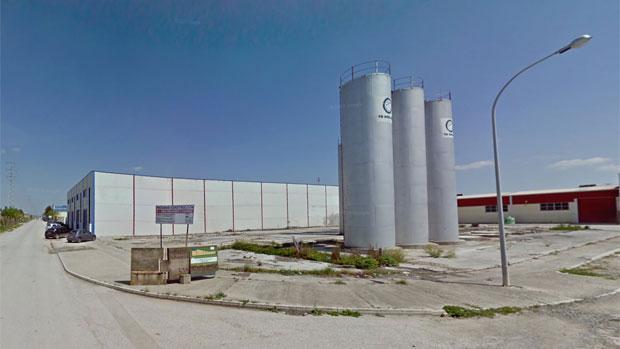 Vista general del Polígono Industrial Las Marismas de Lebrija
