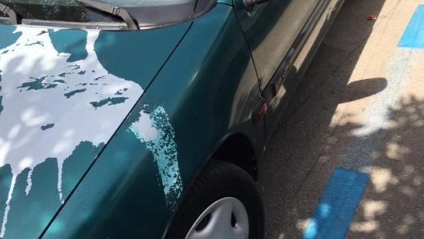 Nuevo ataque al coche de un concejal del Ayuntamiento de Jerez