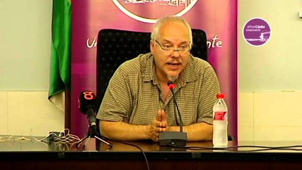 Vicente Barcia, del Gabinete de Alcaldía, uno de los impulsores del proeycto