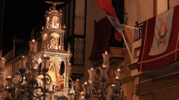 La Virgen de Aguas Santas Coronada procesiona desde las 22 horas