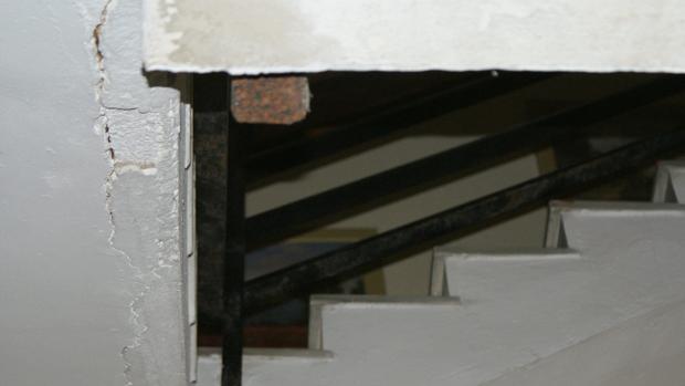 Imagen de las deficiencias en la comisaría de policía de El Almendral de Jerez