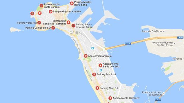 ¿Cuánto cuesta aparcar en Cádiz?