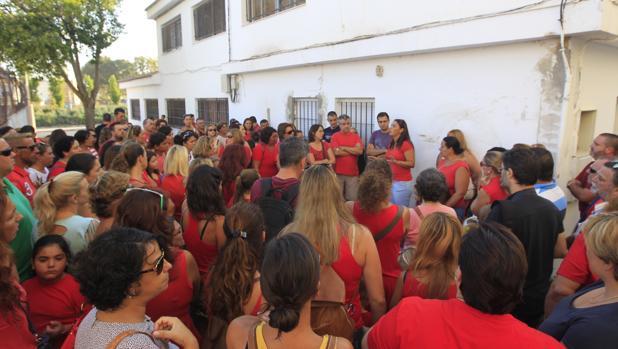 Grupo de padres del Reggio de Puerto Real