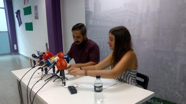 Podemos acusa al PSOE de «montar un circo» de las amenazas de Alexis a Fran González