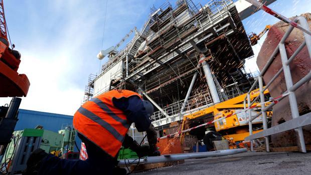 Navantia espera que Iberdrola le adjudique la subestación del East Anglia One