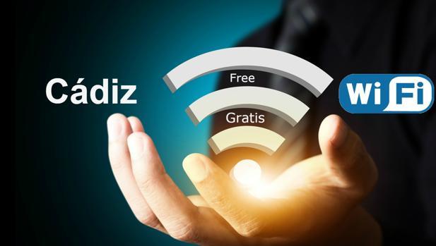 Internet:  Conexión Wifi gratis en Cádiz. Free Zone Wi-Fi