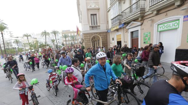 La Semana de la Movilidad pedirá una Cádiz más peatonal y ciclista