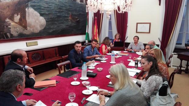 La comisión de sostenibilidad ha contado con momentos tensos entre PP y Podemos.