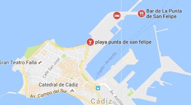 Google localiza y pone nombre a la playa de La Punta