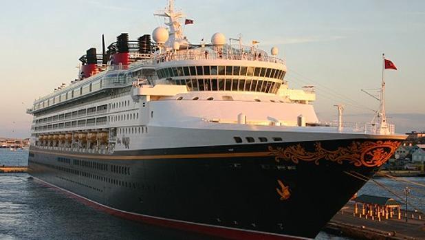 Vista panorámica del crucero de Disney