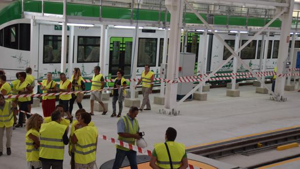 El tranvía comenzará a circular en pruebas la próxima semana