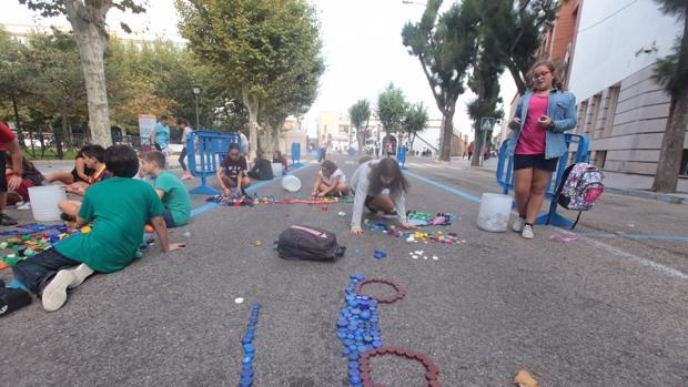 Hoy se corta el tráfico en la plaza de España en Cádiz