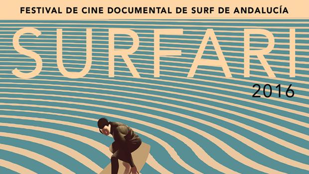 El surf protagoniza un festival de cine en Conil