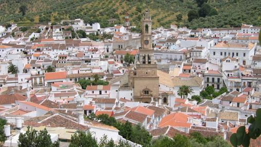 Vistas del municipio de Constantina