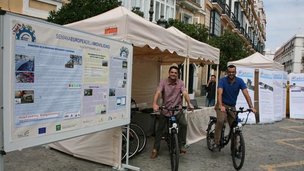 La bicicleta que es capaz de medir la salud ambiental