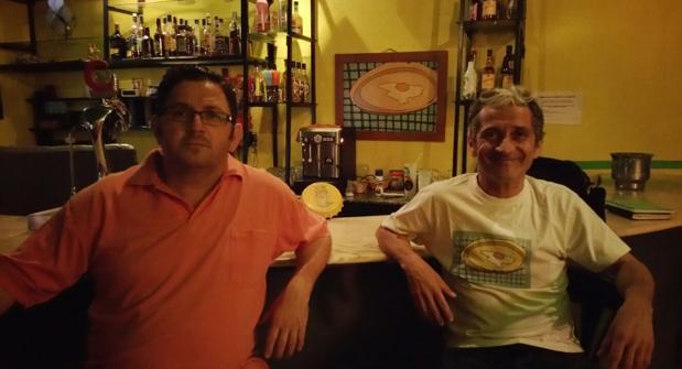 Los hermanos Antonio y Eulogio Franco Campillo, dueños del Café Pop