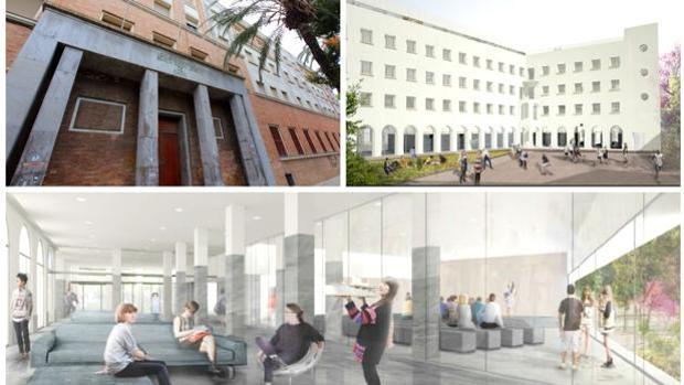 Sale a licitación el proyecto de rehabilitación del Colegio Mayor Beato Diego