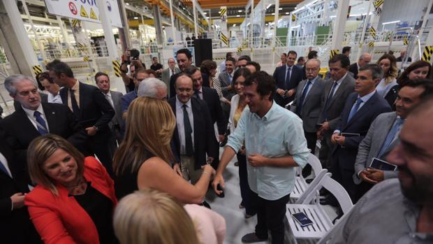 Díaz preside la firma del protocolo para el Centro de Fabricación Avanzada Aeronáutica y Naval en Cádiz