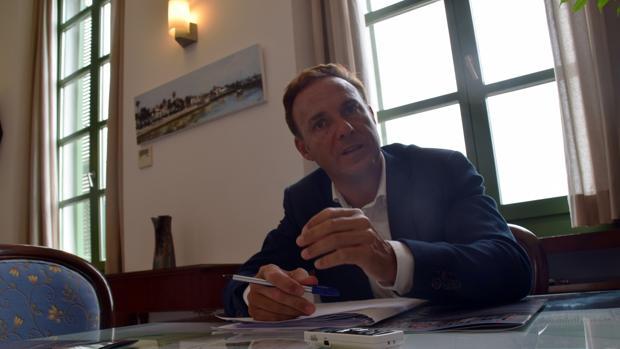 David de la Encina: «El objetivo es recuperar el orgullo y la moral de la ciudad»