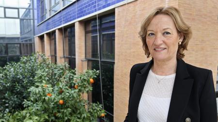 Carmen Ortiz, consejera de Agricultura de la Junta
