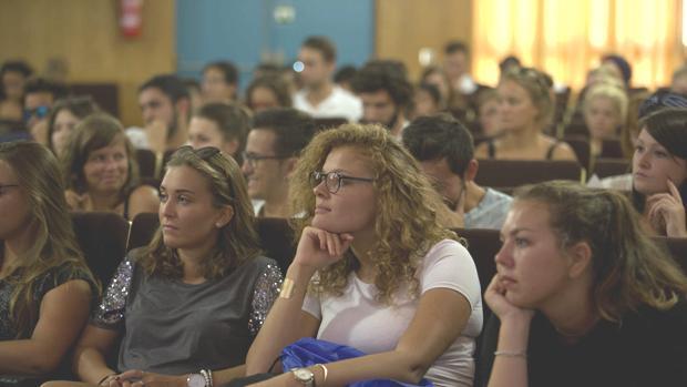 La UCA recibe a 600 estudiantes entre Erasmus y visitantes