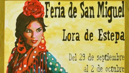 Cartel de la Feria de Lora de Estepa