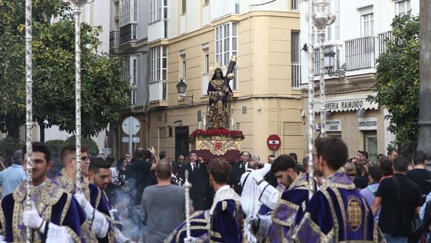 El Nazareno gana el jubileo y regresa a Santa María