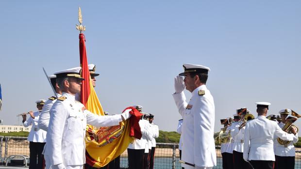 El Almirante de la Flota se despide de las fuerzas