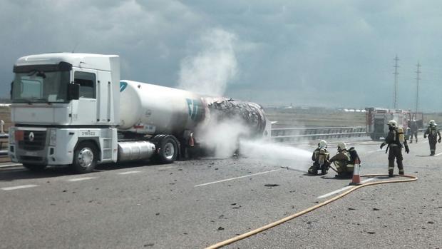 Imagen de archivo de una intervención del servicio de bomberos