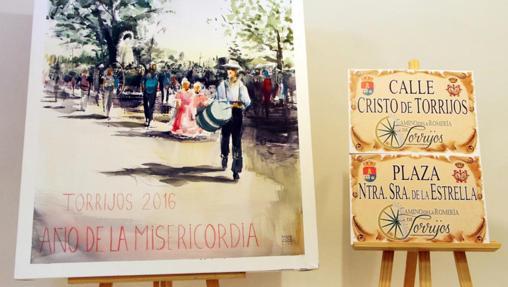 Cartel de la Romería de Torrijos