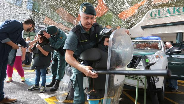 La Guardia Civil abre a todos las puertas de su casa