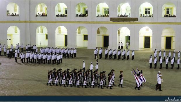 La Armada conmemora el 400 aniversario de Miguel De Cervantes