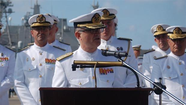 El Gobierno nombra a Juan Rodríguez Garat nuevo almirante de la Flota de la Armada