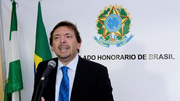 Blas Ballesteros, cuando era cónsul honorario de Brasil en Sevilla