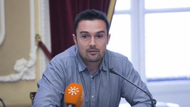 Martín Vila es el concejal de Memoria Democrática.