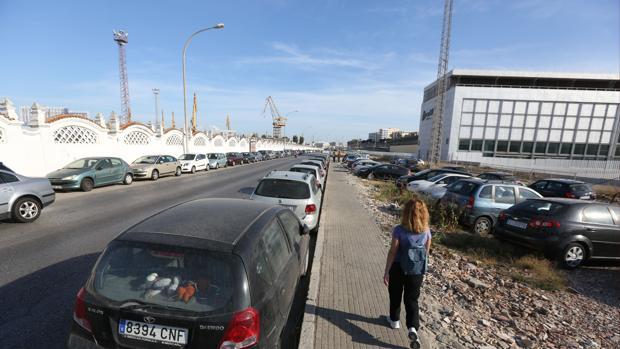 La carretera industrial se ha convertido en un nuevo punto negro de circulación.